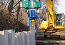 sheet piling, geotechnical construction, groundwater control