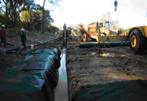 Biopolymer Trench, environmental remediation, geotechnical construction