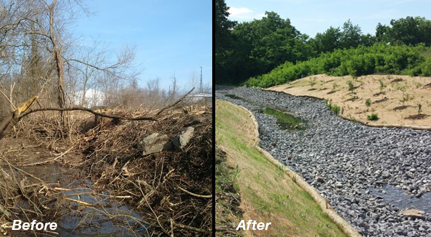 Sediment Removal and Wetland Stream Restoration
